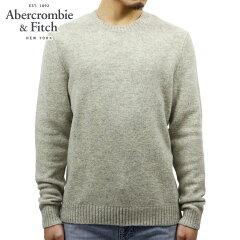 アバクロAbercrombie&Fitch正規品メンズセーターWOOLCREWSWEATER120-201-1046-120