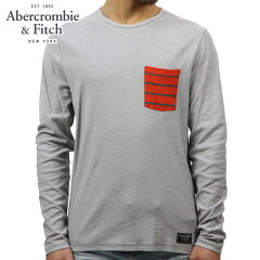 アバクロAbercrombie&Fitch正規品メンズ長袖TシャツLONG-SLEEVESTRIPEDPOCKETTEE124-236-1692-112