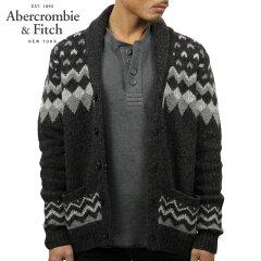 アバクロAbercrombie&Fitch正規品メンズカーディガンFAIRISLESHAWLCARDIGAN120-201-1063-908