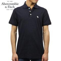 アバクロAbercrombie&Fitch正規品メンズ半袖ポロシャツSTRETCHICONPOLO121-224-0809-200