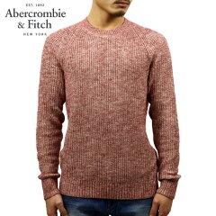 アバクロAbercrombie&Fitch正規品メンズクルーネックセーターCREWKNITSWEATER120-201-1116-610
