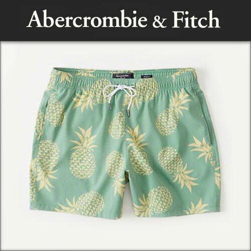 アバクロ Abercrombie&Fitch 正規品 メンズ スイムパンツ 水着 CLASSIC TRUNKS Shorter 133-350-0...
