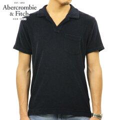 アバクロAbercrombie&Fitch正規品メンズ半袖ポロシャツTERRYPILEPOLO121-224-0828-200