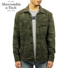 アバクロAbercrombie&Fitch正規品メンズアウターシャツジャケットMILITARYSHIRTJACKET125-168-2928-336
