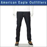 アメリカンイーグル AMERICAN EAGLE 正規品 メンズ スキニージーンズ SKINNY JEAN DARK RINSE WASH 0119-2651