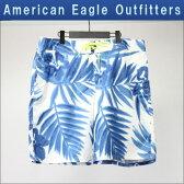 アメリカンイーグル AMERICAN EAGLE 正規品 メンズ スイムパンツ AE PRINTED BOARD SHORT 0133-5816 BLUE