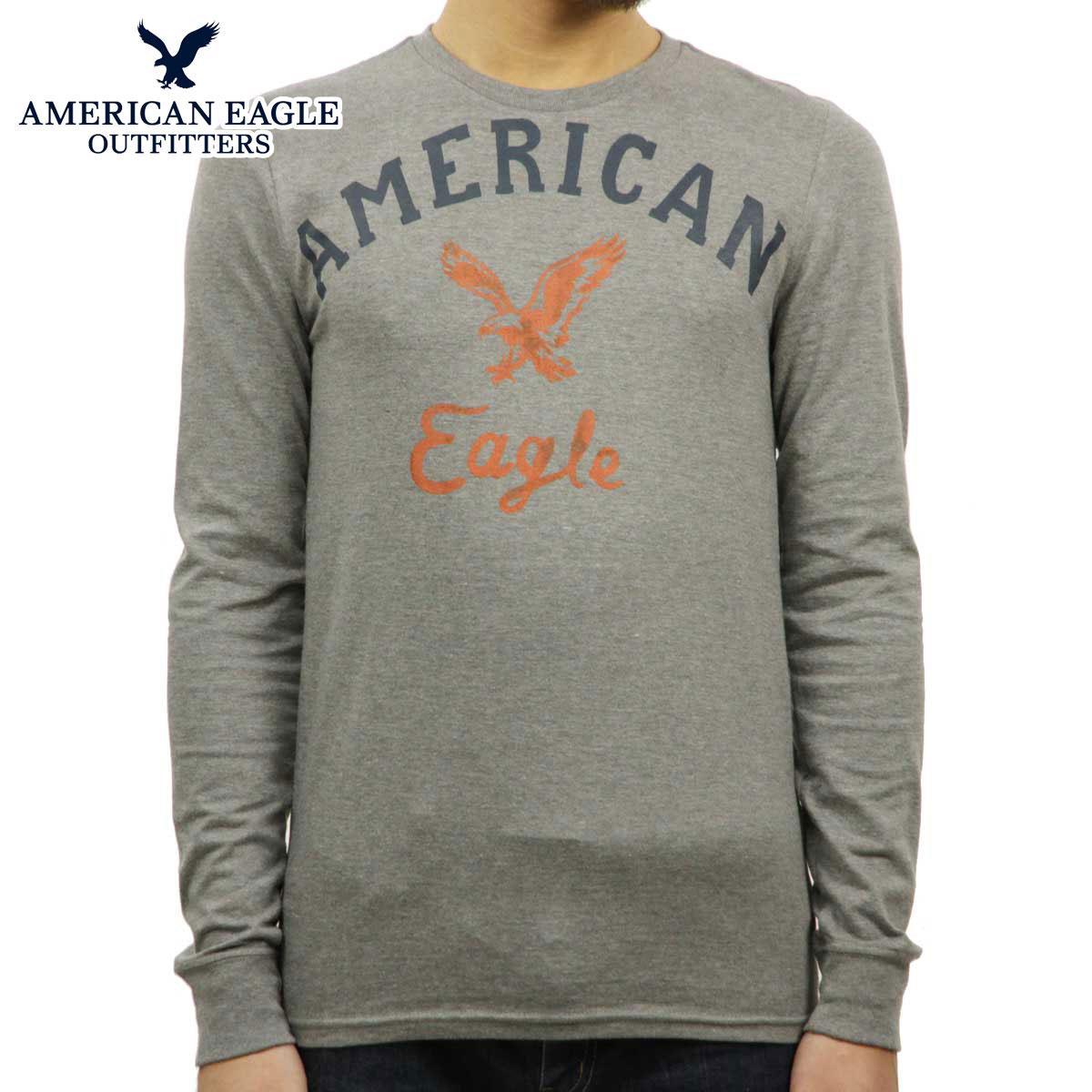 トップス, Tシャツ・カットソー  T AMERICAN EAGLE T GRAPHIC T-SHIRT 0518-3899 GREY