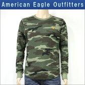 アメリカンイーグル AMERICAN EAGLE 正規品 メンズ 長袖Tシャツ AEO Solid Thermal 1519-6121
