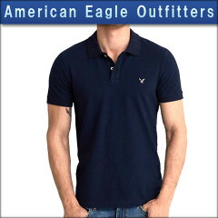 アメリカンイーグルAMERICANEAGLE正規品メンズ半袖ポロシャツAEOFLEXSOLIDPIQUEPOLO1165-8500-400