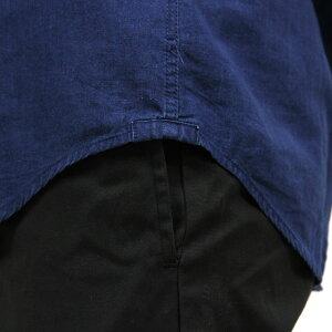 アメリカンイーグルAMERICANEAGLE正規品メンズ長袖ボタンダウンシャツAEOINDIGOPOPOVERSHIRT1152-9686-410