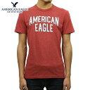 アメリカンイーグル AMERICAN EAGLE 正規品 メンズ クルーネック 半袖ロゴTシャツ AE BRANDED GRAPHIC TEE 0181-3670-620