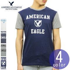 アメリカンイーグルAMERICANEAGLE正規品メンズUSAモデルクルーネック半袖TシャツAEGRAPHICTEE