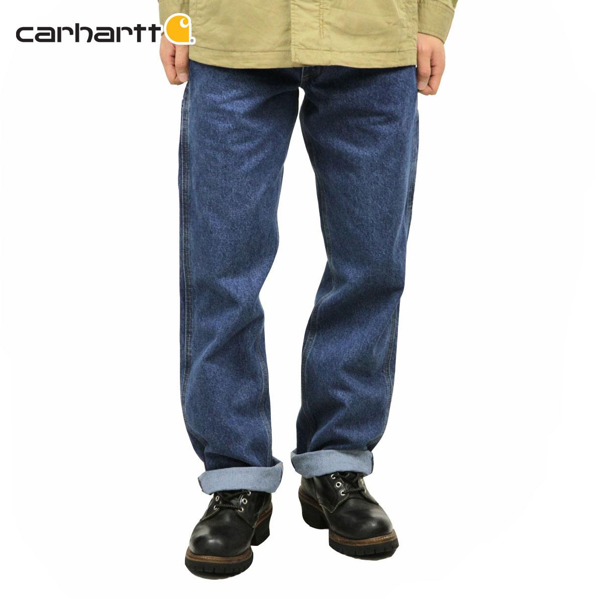 メンズファッション, ズボン・パンツ 10 1119 20:001126 01:59 CARHARTT RELAXED-FIT CARPENTER JEAN B171 - DST DARKSTONE