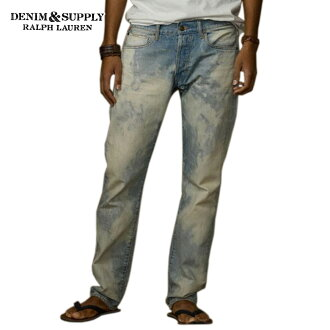 DENIM SUPLLY RALPH LAUREN Ralph Lauren genuine mens jeans Slim-Fit Uta-Wash Jean A44B B1C C2D D1E E06F10P28oct13