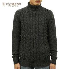 ディストレスDSTREZZED正規販売店メンズセーター