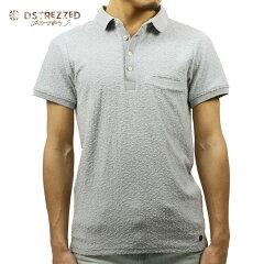 ディストレスDSTREZZED正規販売店メンズポロシャツTOWELINGPILEPOLOSHIRTSTEELBLUE21108784