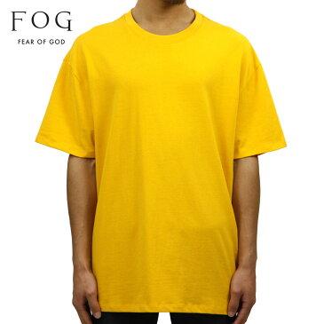 フィアオブゴッド FEAR OF GOD 正規品 メンズ クルーネック 無地 半袖Tシャツ FOG - FEAR OF GOD ESSENTIALS BOXY T-SHIRT YELLOW
