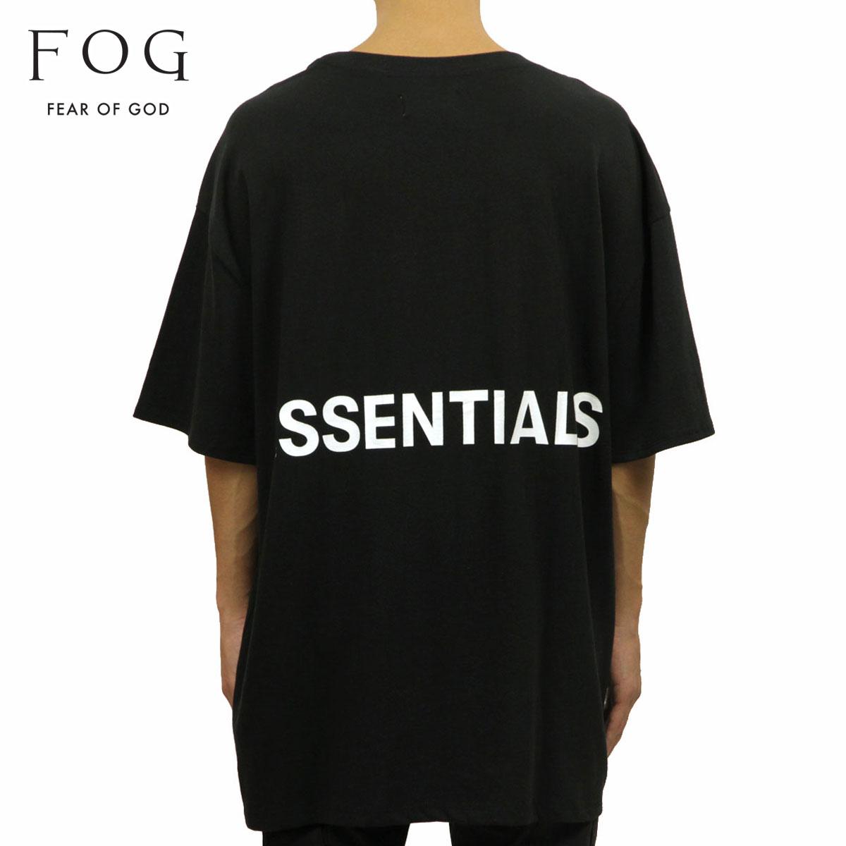 トップス, Tシャツ・カットソー  T FEAR OF GOD T FOG - FEAR OF GOD ESSENTIALS BOXY GRAPHIC T-SHIRT BLACK