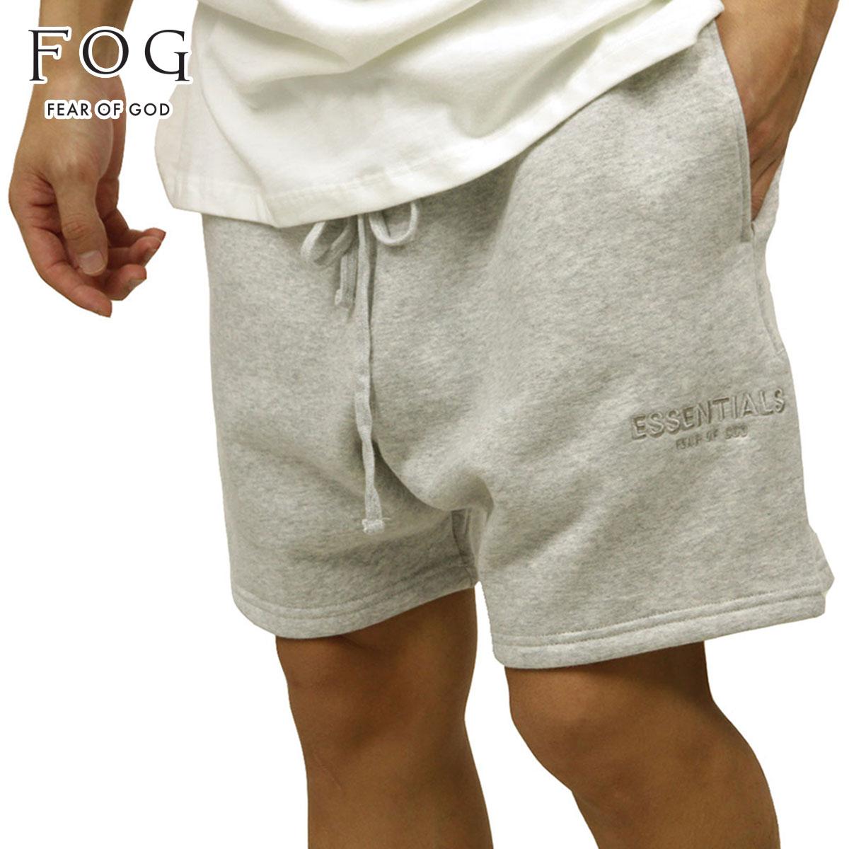 メンズファッション, ズボン・パンツ  FEAR OF GOD FOG - FEAR OF GOD ESSENTIALS SWEAT SHORTS HEATHER GREY