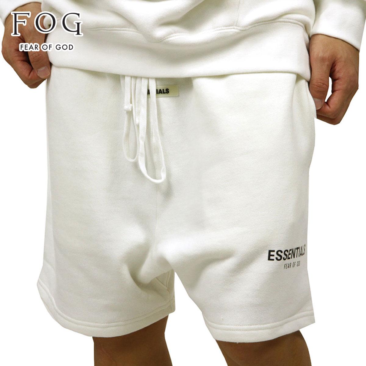メンズファッション, ズボン・パンツ  FEAR OF GOD FOG - FEAR OF GOD ESSENTIALS SWEAT SHORTS WHITE