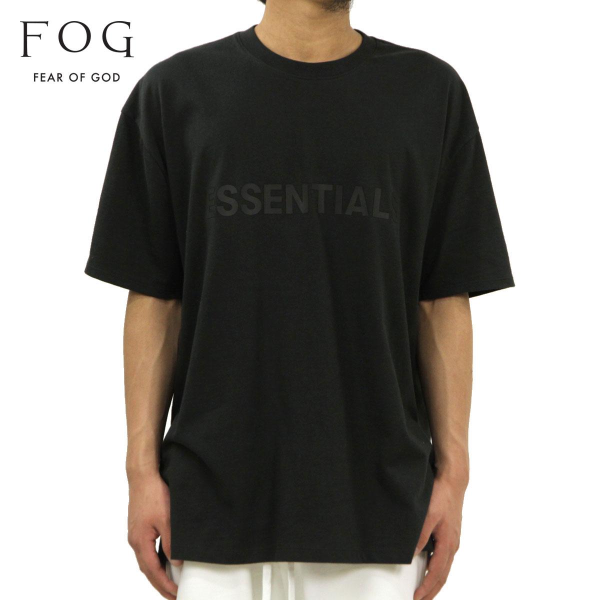 トップス, Tシャツ・カットソー  T FEAR OF GOD T FOG - FEAR OF GOD ESSENTIALS T-SHIRT BLACK