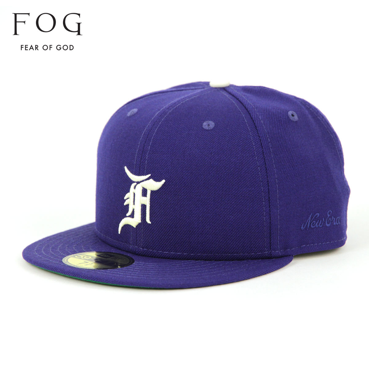 メンズ帽子, キャップ  FEAR OF GOD FOG - FEAR OF GOD ESSENTIALS X NEW ERA 59FIFTY FITTED HAT BLUE