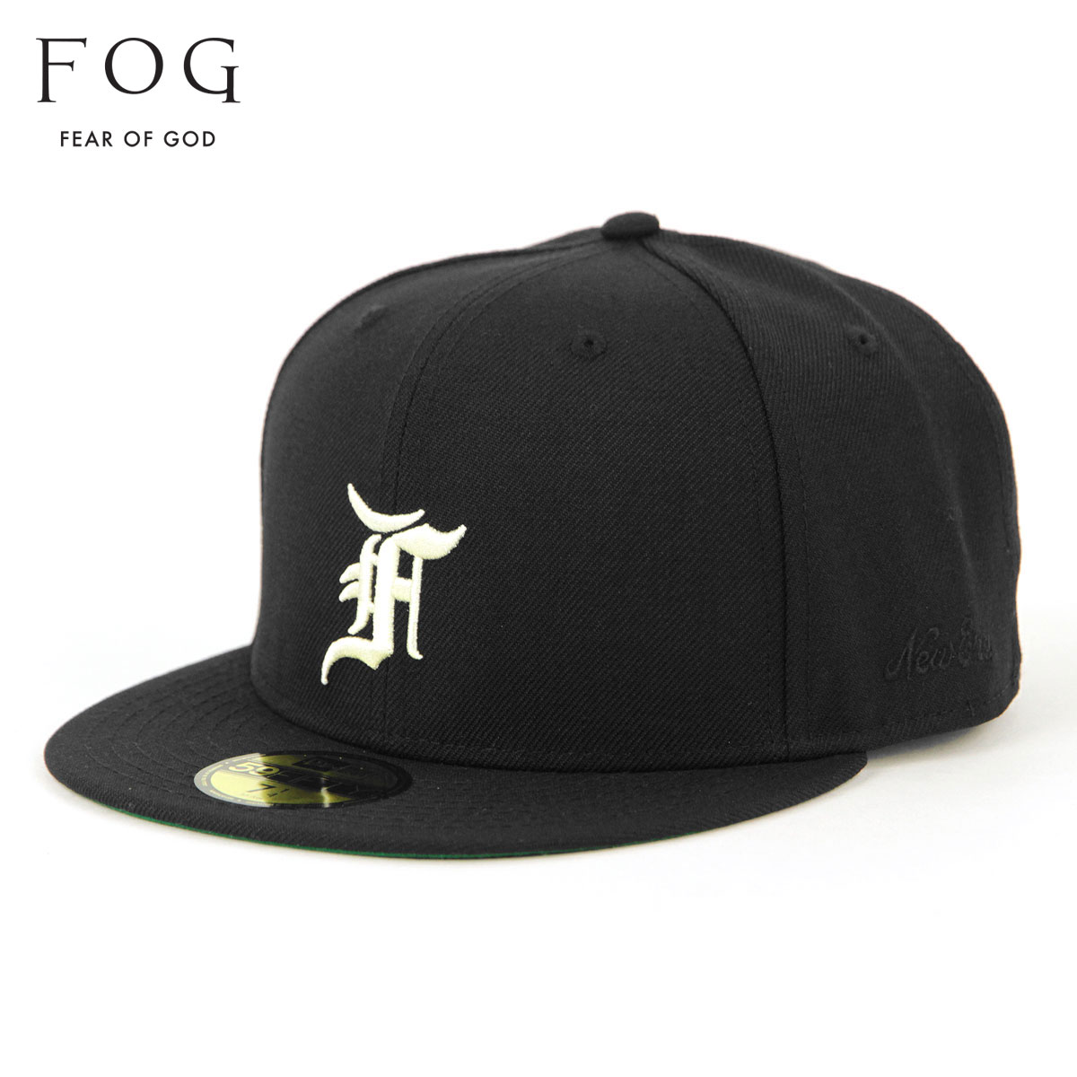 メンズ帽子, キャップ  FEAR OF GOD FOG - FEAR OF GOD ESSENTIALS X NEW ERA 59FIFTY FITTED HAT BLACK