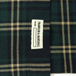 予約商品8-10月頃入荷予定フランクリン&マーシャルFRANKLIN&MARSHALL正規販売店メンズ長袖シャツBUTTONDOWNSHIRTSSHMF392AN30032202FRANKLINCHECK