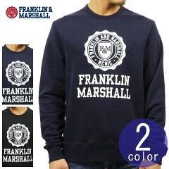 フランクリン&マーシャルFRANKLIN&MARSHALL正規販売店メンズラウンドネックスウェットCREWNACKFLEECE