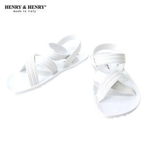 【あす楽対応】 A66B B3C C4D D3E E01Fヘンリーアンドヘンリー HENRY&HENRY サンダル SURF WHI...