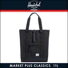 ハーシェル Herschel バッグ Market Plus Classics Totes 10131-00155-OS Black Rubber 10P04Jul15