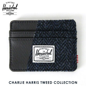 3d87a8fa16b 赫谢供给Herschel Supply正规的店铺卡片匣Charlie Harris Tweed COLLECTION 10045-