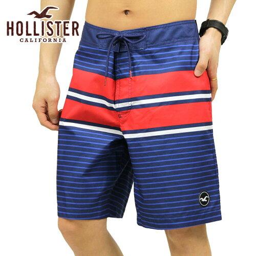 ホリスター HOLLISTER 正規品 メンズ スイムパンツ 水着 Patterned Logo Classic Fit Boardshort 3...