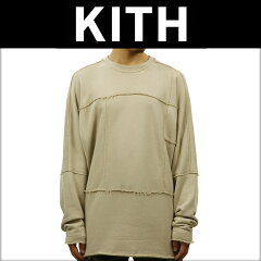 キスKITH正規品メンズスウェットKITHCLASSICSEUCLIDCREWNECKKH2090-104SAND