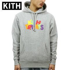 キスKITH正規品メンズプルオーバーパーカーKITHTREATS3DHOODIEHEATHERGREYKH2180-103