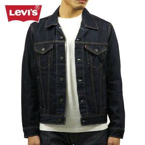 リーバイス メンズ ジージャン LEVI'S LEVIS 正規品 デニムジャケット Gジャン トラッカージャケット アウタージャケット リンス Denim Jacket Trucker Rinse 72334-0134 14.5oz