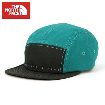 【ポイント10倍 5/4 10:00〜5/7 09:59まで】 ノースフェイス THE NORTH FACE 正規品 メンズ レディース キャップ 帽子 THE NORTH FACE FIVE PANEL BALL CAP WEATHERED BLACK/PORCELAIN GREEN