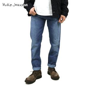ヌーディージーンズ ジーンズ メンズ 正規販売店 Nudie Jeans ジーパン Steady Eddie 195 Organic Deep Sea D15S25