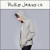 【販売期間 2/19 10:00〜3/2 9:59】 ヌーディージーンズ Nudie Jeans 正規販売店 メンズ パーカー Zip Hood Lightweight 150135 B04 Greymelange