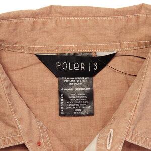 ポーラーPOLER正規販売店メンズ半袖シャツWASHEDUPS/SWOVEN717105-PNKDUSTYPINK