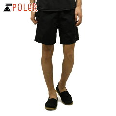 ポーラーPOLER正規販売店メンズショートパンツSUMMITVOLLEYSHORT611151-BLKBLACK