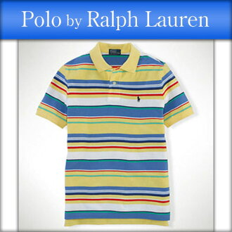 Poloralflorenkids 馬球拉爾夫勞倫兒童真正孩子服裝男孩 polo 衫條紋網眼 Polo #18121196 P16Sep15 10P23Sep15