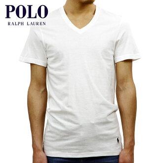 馬球拉爾夫勞倫馬球拉爾夫勞倫真誠的男士短袖 V 圓領 T v 領 t 恤白色 10P28Sep16