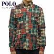 【スーパーDEAL商品 5/12 10:00〜5/25 9:59】 ポロ ラルフローレン POLO RALPH LAUREN 正規品 メンズ 長袖シャツ Custom Adler Patchwork Shirt