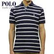 【スーパーDEAL商品 3/17 10:00〜3/30 9:59】 ポロ ラルフローレン POLO RALPH LAUREN 正規品 メンズ ポロシャツ Custom-Fit Stripe Rugby Polo