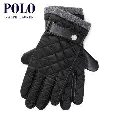 ポロラルフローレンPOLORALPHLAUREN正規品メンズ手袋DIAMOND-QUILTEDFIELDGLOVES