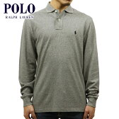 ポロラルフローレン POLO RALPH LAUREN 正規品 メンズ 長袖ポロシャツ CLASSIC FIT COTTON MESH POLO