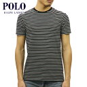 【ポイント10倍 4/9 20:00〜4/16 01:59まで】 ポロ ラルフローレン POLO RALPH LAUREN 正規品 メンズ 半袖Tシャツ STRIPED SHORT-SLEEVED T-SHIRT