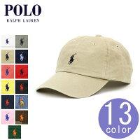 ポロ ラルフローレン POLO RALPH LAUREN 正規品 メンズ 帽子 キャップ ワンポイント 刺繍入り COTTON BASEBALL CAP