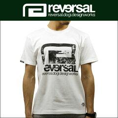 リバーサルREVERSAL正規販売店メンズ半袖TシャツYGCBIGMARKCOTTONTEErv17ss001WHITE